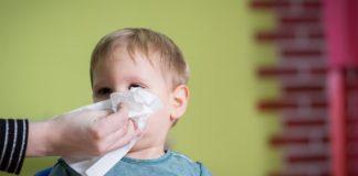 prehlada ili alergija, virus