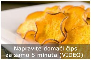 Domaći čips pripremite za samo 5 minuta (VIDEO)