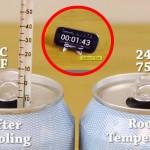 kako ohladiti limenku