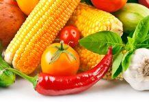 povrće i voće, očistite tijelo od nikotina