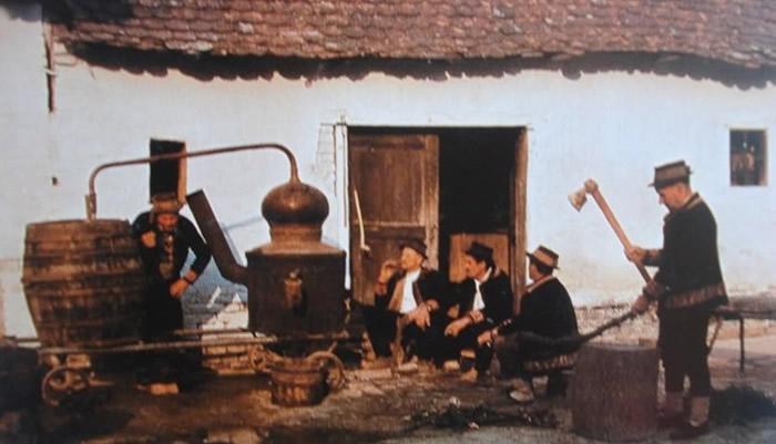 pečenje rakije - destilacija