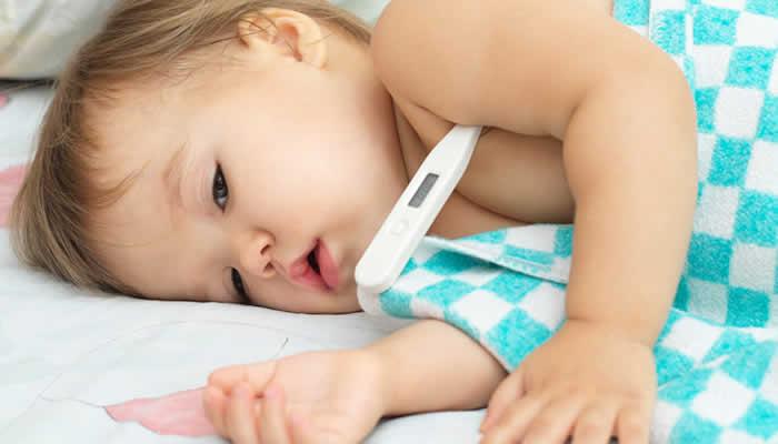 kako skinuti temperaturu kod djece