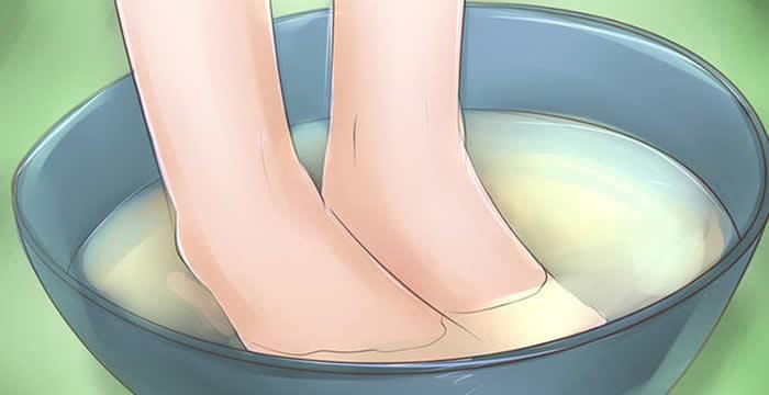 Gljivice na stopalu - Kupka