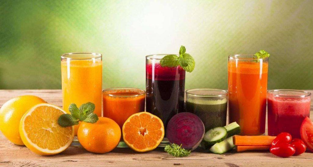 Sokovi od svježeg voća i povrća