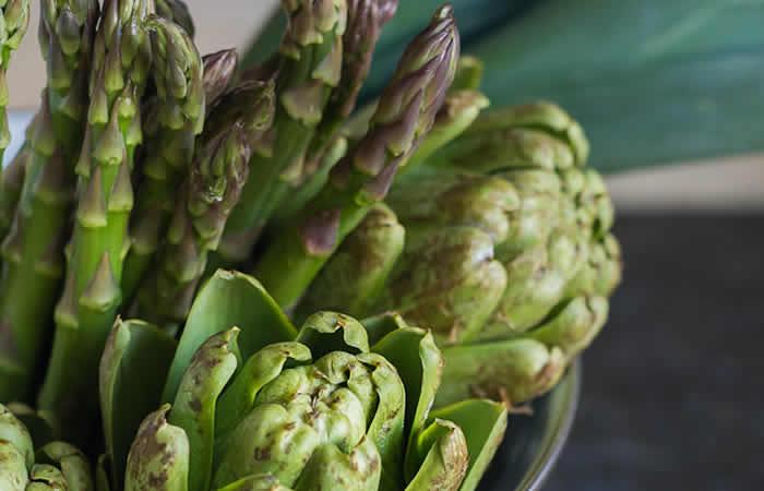 Proljetna hrana - čičoka i šparoga