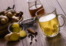 voda đumbir čaj
