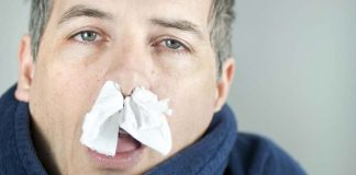 Začepljen nos